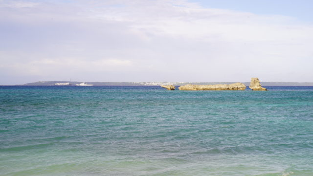 宮古島 のマボロシビーチ