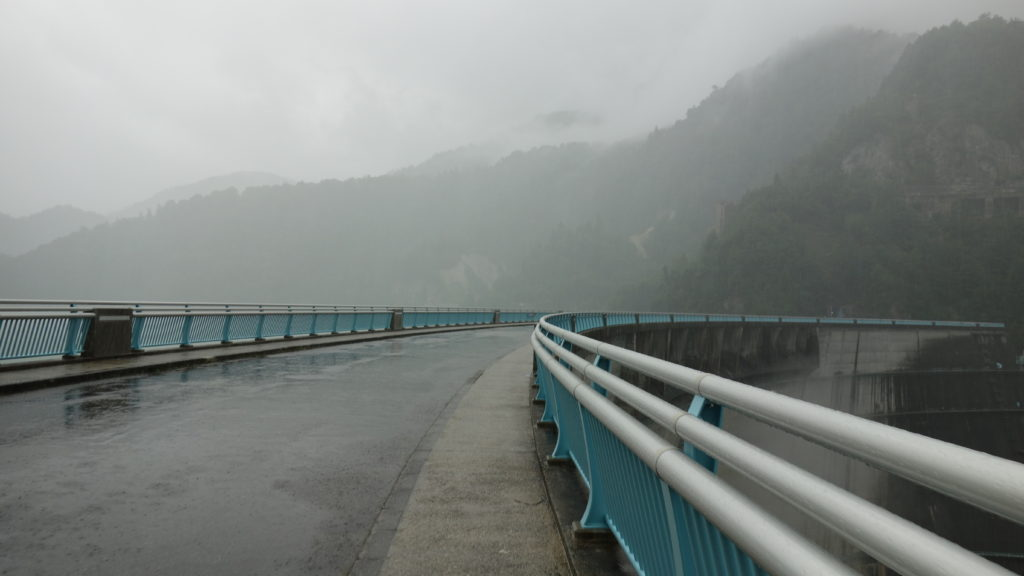 北アルプス 黒部ダム