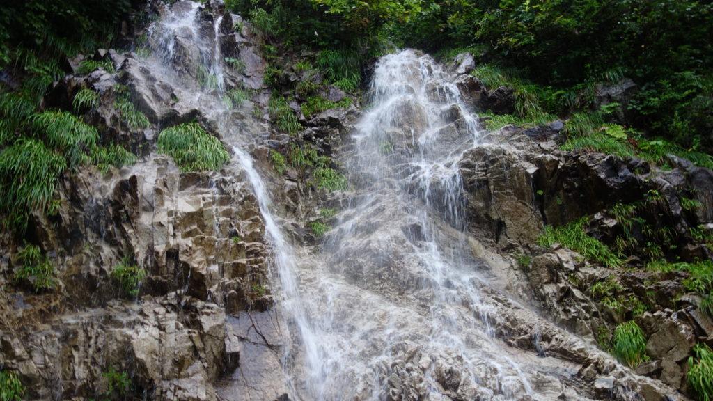 北アルプス での滝