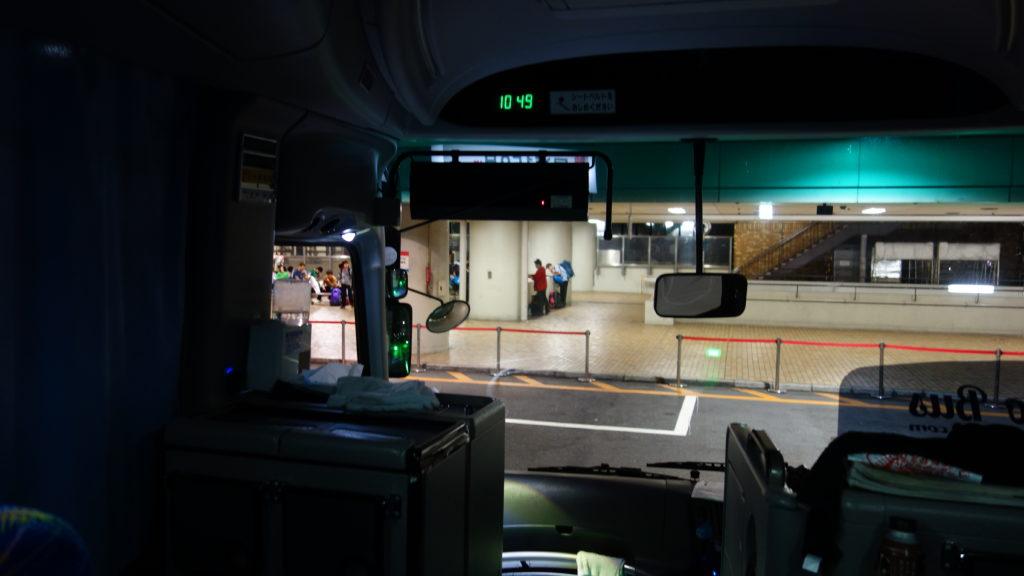 池袋のバスターミナル