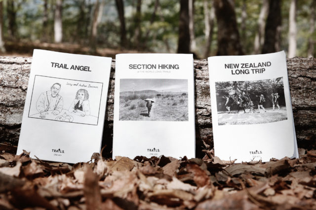 ZINE-IN THE TRAIL TODAY