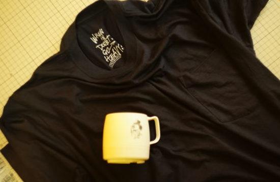 ULTRAHEAVY(ウルトラヘビー)×2-tacsのメリノウールTシャツ