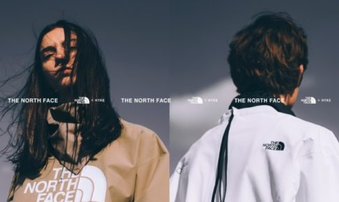 THE NORTH FACE(ザ・ノース・フェイス)×HYKE(ハイク)
