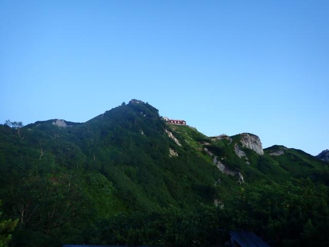 燕岳 〜 大天井岳登山