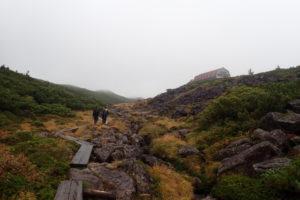 雲ノ平 を目指して、雨の北アルプスへ突入ハイキング_3