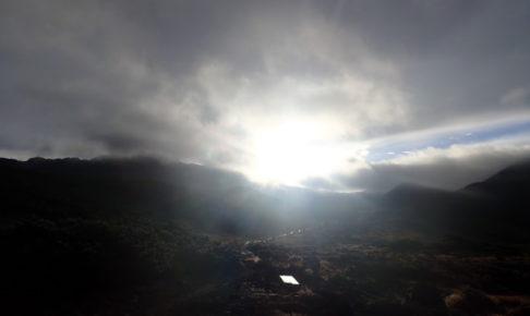 雲ノ平 を目指して、雨の北アルプスへ突入ハイキング_4