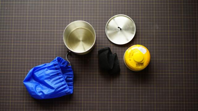 jindaiji mountain works の「Hillbilly Pot 550」を購入して八ヶ岳へ